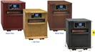 "20"" DELUXE WOOD CABINET-STYLE INFRARED HEATER"