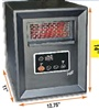 "14"" PLASTIC CABINET-STYLE INFRARED HEATER"