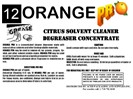Orange Pro Citrus Solvent Cleaner