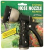 Carded 9-Pattern Hose Nozzle