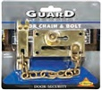 HEAVY DUTY DOOR CHAIN & BOLT